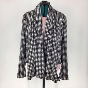 Cabi Clothing Houndstooth Jacket, #3904, Large